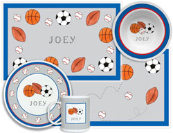 3 or 4 Piece Tabletop Sets by Kelly Hughes Designs (Sports Fan)