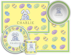 3 or 4 Piece Tabletop Sets by Kelly Hughes Designs (Hoppy Easter)