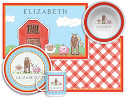 3 or 4 Piece Tabletop Sets by Kelly Hughes Designs (Down On The Farm)