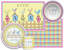 3 or 4 Piece Tabletop Sets by Kelly Hughes Designs (For The Birds)