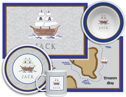 3 or 4 Piece Tabletop Sets by Kelly Hughes Designs (Ahoy Matey)