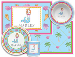 3 or 4 Piece Tabletop Sets by Kelly Hughes Designs (Mermaid)