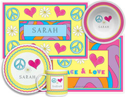 3 or 4 Piece Tabletop Sets by Kelly Hughes Designs (Peace Love Eat)