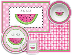 3 or 4 Piece Tabletop Sets by Kelly Hughes Designs (Ant Picnic)