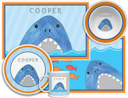 3 or 4 Piece Tabletop Sets by Kelly Hughes Designs (Sharks And Minnows)