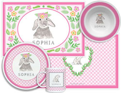 3 or 4 Piece Tabletop Sets by Kelly Hughes Designs (Bunny Love)