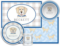 3 or 4 Piece Tabletop Sets by Kelly Hughes Designs (Happy Tails)