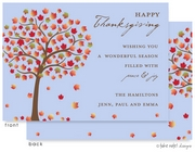 Take Note Designs - Fall/Thanksgiving Greeting Cards (Autumn Sunrise)