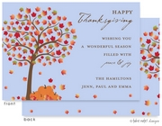 Take Note Designs - Fall/Thanksgiving Greeting Cards (Autumn Tree with Pumpkins)