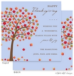 Take Note Designs - Fall/Thanksgiving Greeting Cards (Autumn Sunrise Square)