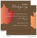 Take Note Designs - Fall/Thanksgiving Greeting Cards (Maple Leaf)