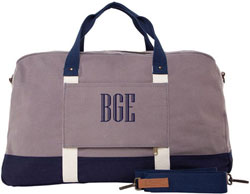 Expedition Weekender Gray With Navy Trim by CB Station