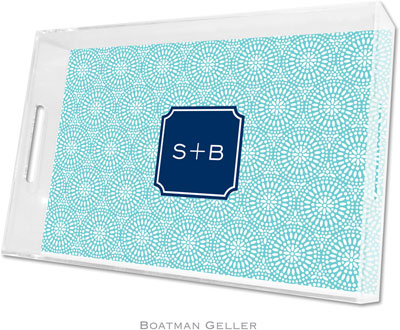 Boatman Geller - Create-Your-Own Personalized Lucite Trays (Bursts - Large)