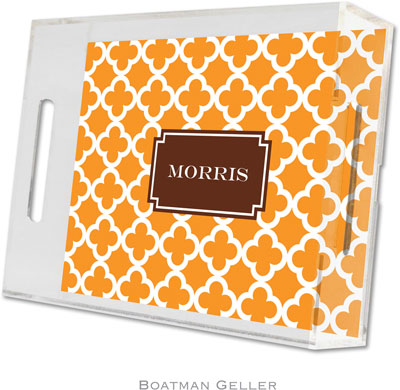 Boatman Geller - Create-Your-Own Personalized Lucite Trays (Bristol Tile - Small)