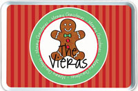 iDesign Melamine Serving Trays - Gingerbread Cookie