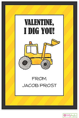 Valentine's Day Exchange Cards by Kelly Hughes Designs (Dig It)