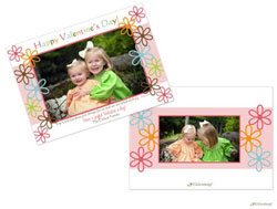 Little Lamb - Valentine's Day Photo Cards (Fun Flowers)
