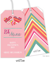 Little Lamb - Valentine's Day Hanging Gift Tags (Be Mine)