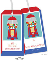Little Lamb - Valentine's Day Hanging Gift Tags (Gumball)