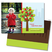 Spark & Spark Valentine's Day Cards (A Tree Of Love - Photo)