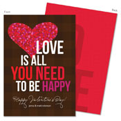 Spark & Spark Valentine's Day Cards (Love Is All You Need)