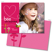 Spark & Spark Valentine's Day Cards (Bee My Valentine - Photo)