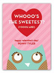 Stacy Claire Boyd - Children's Petite Valentine's Day Cards (Owl Love You)