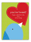 Stacy Claire Boyd - Children's Petite Valentine's Day Cards (You're Tweet)
