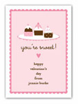 Stacy Claire Boyd - Children's Petite Valentine's Day Cards (You're Sweet)
