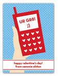 Stacy Claire Boyd - Children's Petite Valentine's Day Cards (Call Me)