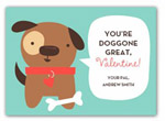 Stacy Claire Boyd - Children's Petite Valentine's Day Cards (Doggone Great)