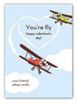 Stacy Claire Boyd - Children's Petite Valentine's Day Cards (You're Fly)
