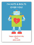 Stacy Claire Boyd - Children's Petite Valentine's Day Cards (Nuts And Bolts)