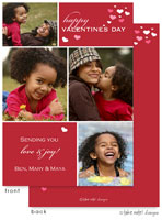 Take Note Designs Valentine's Day Digital Photo Cards - Valentine Cubes