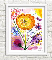 Framable Art Prints by Michele Pulver/Another Creation - Believe in Tomorrow