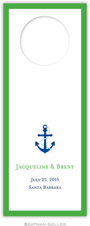 Boatman Geller - Create-Your-Own Wine Bottle Tags (Icon with Border)