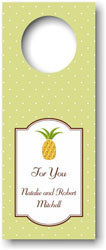 Boatman Geller - Personalized Wine Bottle Tags (Pineapple)