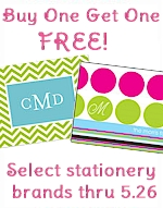 Buy One Get One FREE on select stationery