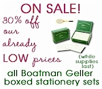 ON SALE! Boatman Geller Boxed Stationery Sets