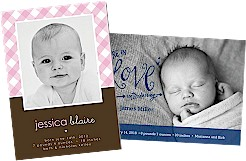 Photo Birth Announcements